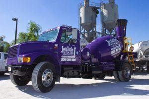 concrete mixer truck southwest florida