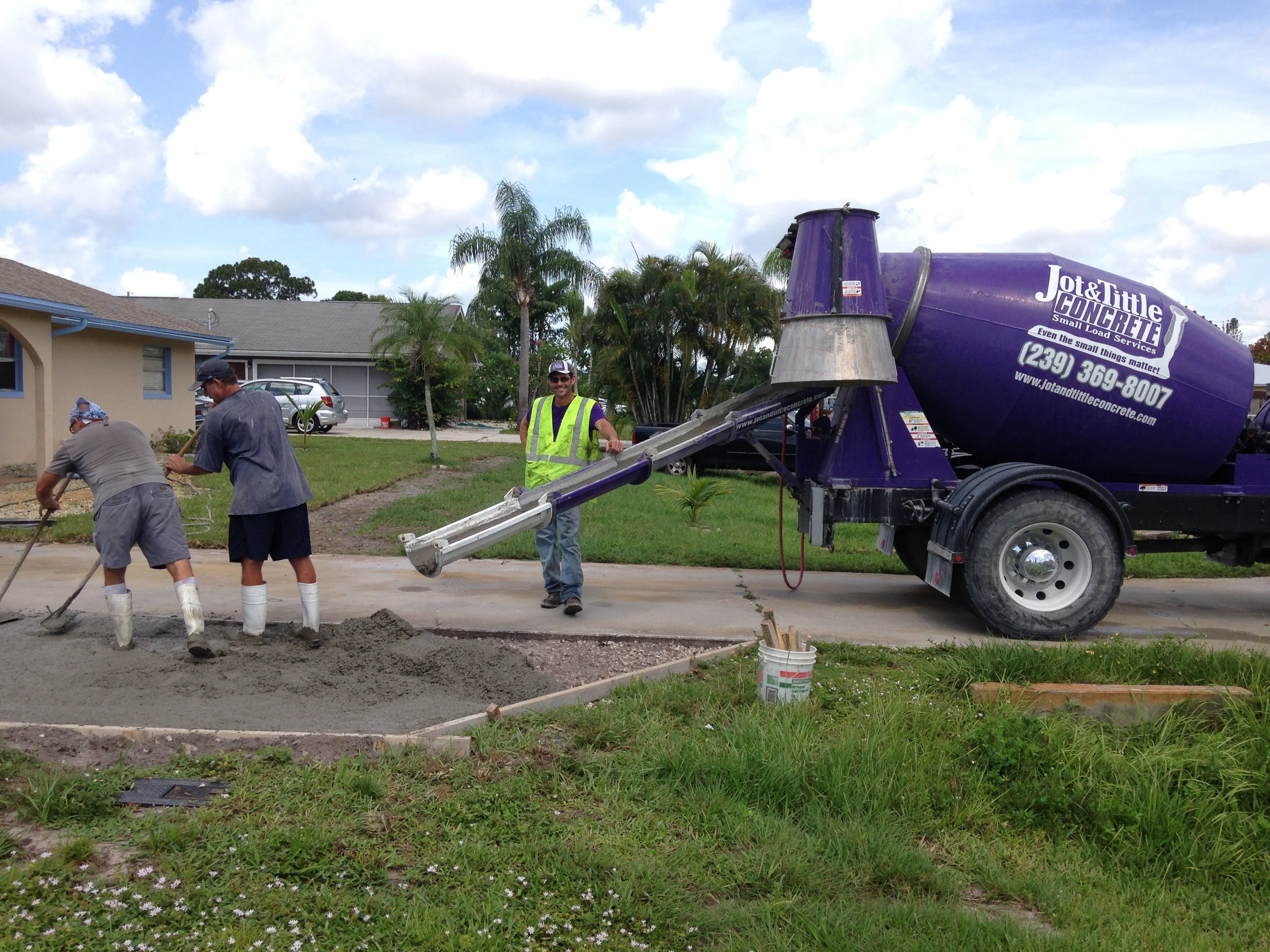 ready mix concrete fort myers